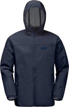 Jack Wolfskin Northern Point Outdoorjas Heren - Night Blue - Maat S