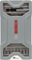 Bosch 25-delige bitset X-PRO