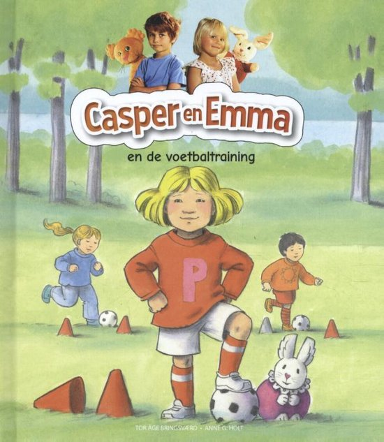 Casper en Emma en de voetbaltraining - Onbekend |