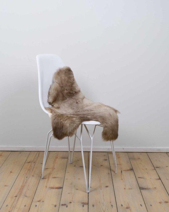 Schapenvacht melange - Melange/taupe schapenvachtje - ca 75x45 cm