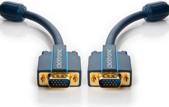 Goobay 70352 VGA kabel 3 m VGA (D-Sub) Blauw