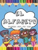El Alfabeto Coloring Book For Kids
