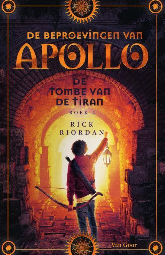 De beproevingen van Apollo 4 - De tombe van de tiran - Rick Riordan  