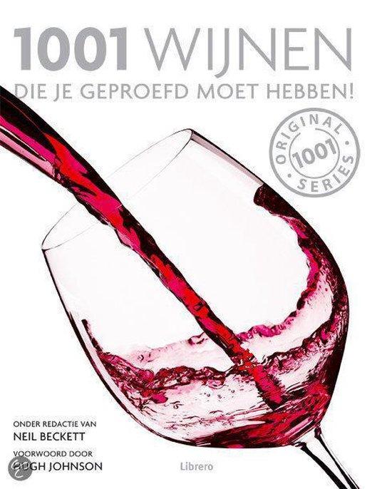 Cover van het boek '1001 wijnen'
