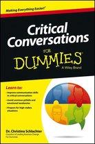 Critical Conversations For Dummies