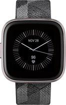 Fitbit Versa 2 SE - Smartwatch - Gewoven grijs