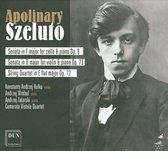Szeluto: Sonata For Cello & Piano, Violin & Piano