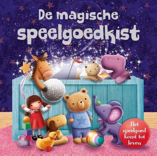 Afbeelding van Kinderboeken Rebo Prentenboek - De magische speelgoedkist. 3+ speelgoed