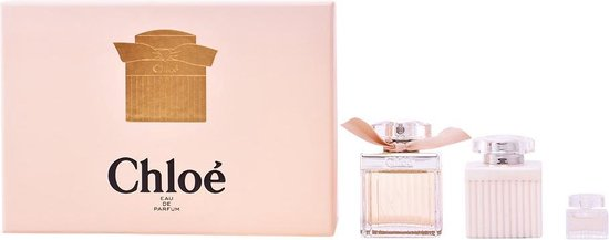 | 3 delige cadeau set Chloe Signature EDT Spray 75ml