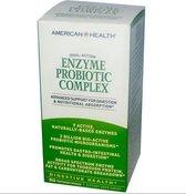 American Health Enzym Probiotisch Complex - 90 vegetarische capsules - Voedingssupplement - Probiotica