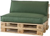 2L Home & Garden Palletkussen Metro Lounge Olijf - 120 x 80cm