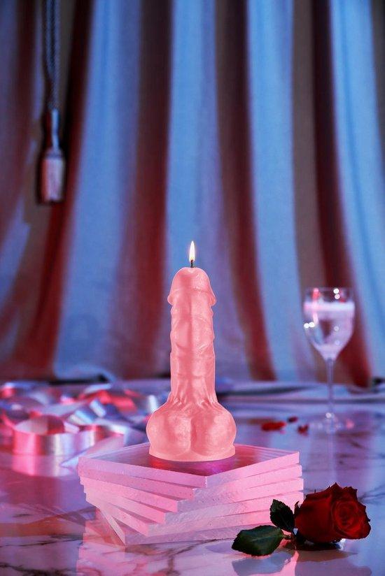 Roze Penis Kaars