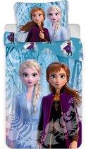 Disney Frozen 2 Snowflake - Dekbedovertrek - Eenpersoons - 140  x 200 cm - Multi