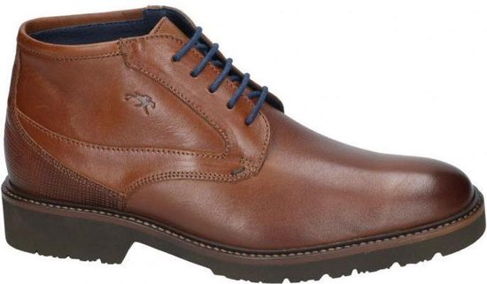 Fluchos -Heren -  cognac/caramel - bottine gekleed - maat 42