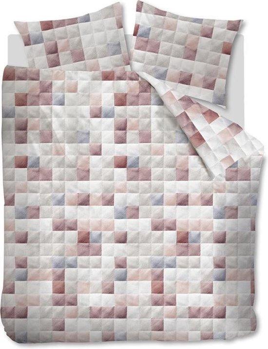 Ariadne At Home dekbedovertrek Colours nude 240×200/220 cm – Leen Bakker