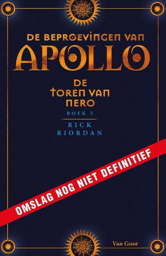 De beproevingen van Apollo 5 - De toren van Nero - Rick Riordan   Fthsonline.com