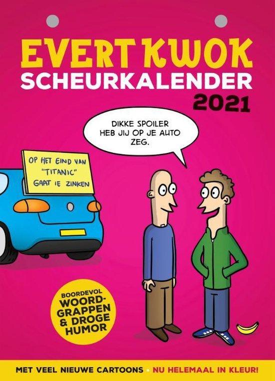 Afbeelding van Evert Kwok Scheurkalender 2021