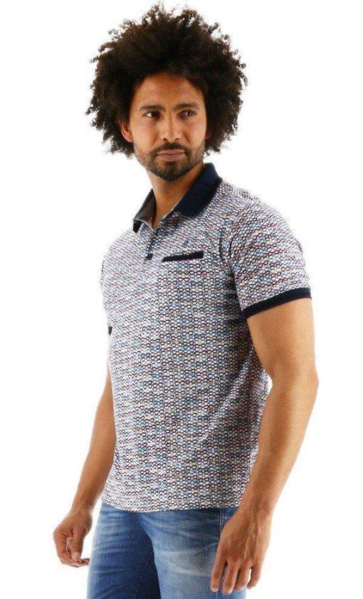 Fellows United Regular Fit Polo Shirt Korte Mouw Wit, Maat M