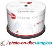 Primeon 2761207 lege dvd 4,7 GB DVD-R 50 stuk(s)