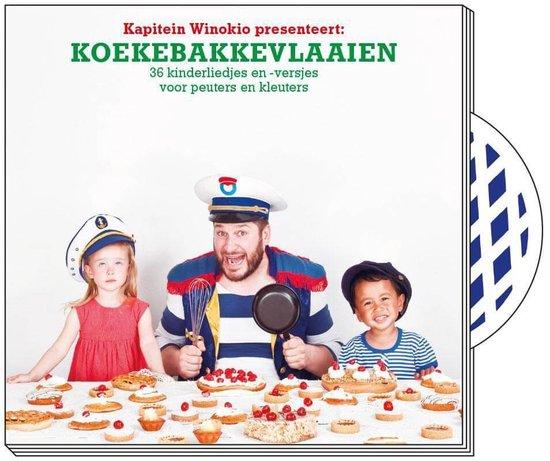 Cover van het boek 'Koekebakkevlaaien + cd'
