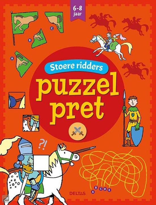 Puzzelpret 0 - Stoere ridders 6-8 jaar - Annemie Bosmans |
