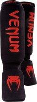 Venum Kontact Scheenkousen Zwart - Rood - One size