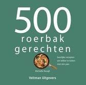 Boek cover 500 roerbakgerechten van Michelle Keogh (Hardcover)