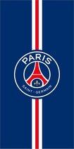 Paris Saint Germain Strandlaken Stripe - 75 x 150 cm - Blauw