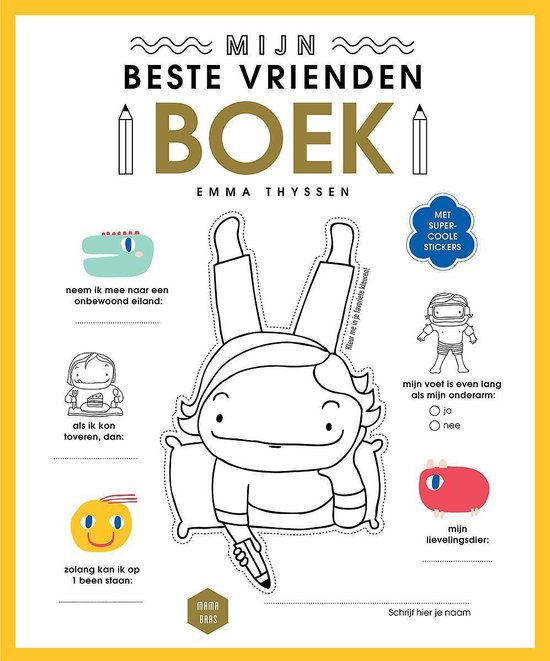 Mama Baas - Mijn beste vriendenboek - Sofie Vanherpe | Readingchampions.org.uk