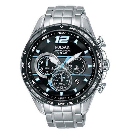 Pulsar PZ5031X1 - Horloge - Heren - Zilverkleurig - Ø 45 mm