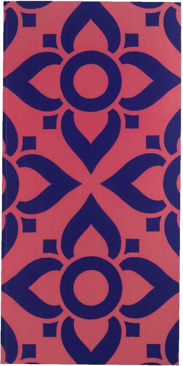 Notitieboek - To Do - Blauw - Roze - Lijstjes - Softcover - Elastiek - Werk - Studie