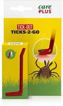 Care Plus Tick-Out Tick 2Go - tekentang- tekenpen - verwijderaar