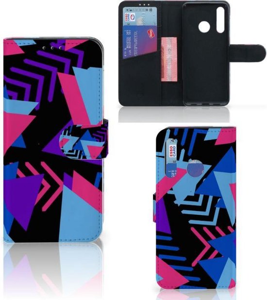 Bookcase Huawei P Smart Plus (2019) Funky Triangle