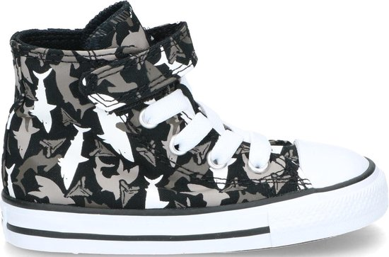 Converse Chuck Taylor All Star 1V High Top sneakers zwart - Maat 24