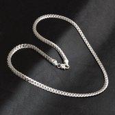 Zilveren Ketting met Cuban Schakels | Ketting Dames | Ketting Heren | 925 Sterling Zilver | 5mm