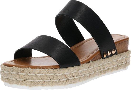 Call It Spring sandalen met riem savannah Zwart-6.5 (37)