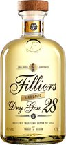Filliers Dry Gin 28 Barrel Aged - 1 x 50 cl