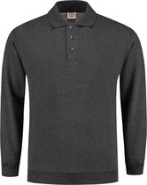Tricorp Polo Sweater Boord  301005 Antraciet - Maat S