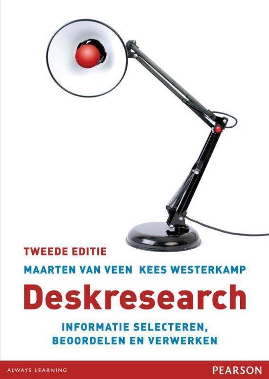 Deskresearch - M. Van Veen |