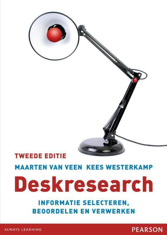 Deskresearch - M. Van Veen pdf epub