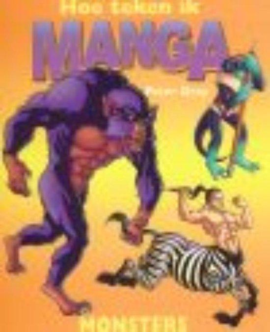 Hoe teken ik manga - Monsters - Peter Gray |