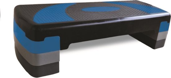 RS Sports Aerobic fitness stepper l compact step l 3 hoogtes