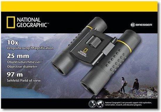 National Geographic Opvouwbare Verrekijker 11,2 Cm Zwart
