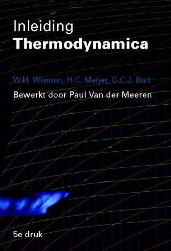 Inleiding Thermodynamica - H.C. Wisman | Fthsonline.com