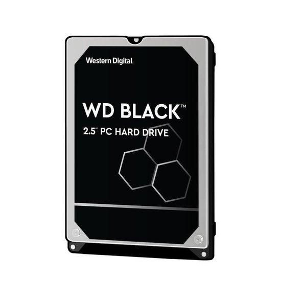 HDD : 2.5 500GB SATA6 7200 32MB Black 5Years warrenty