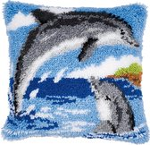 2 Dolfijnen Knoopkussen pakket