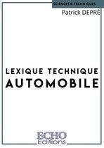 Lexique technique automobile