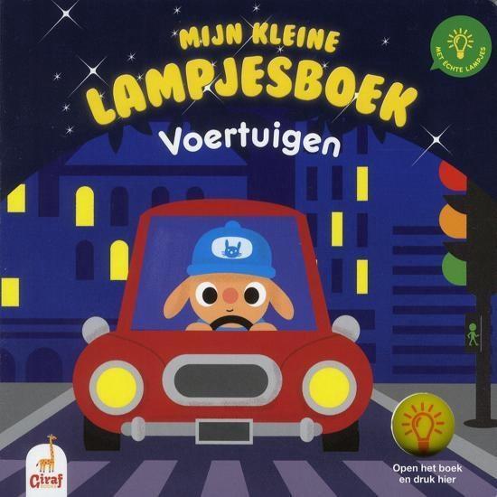 Mijn kleine lampjesboek - Voertuigen - Marc Clamens  