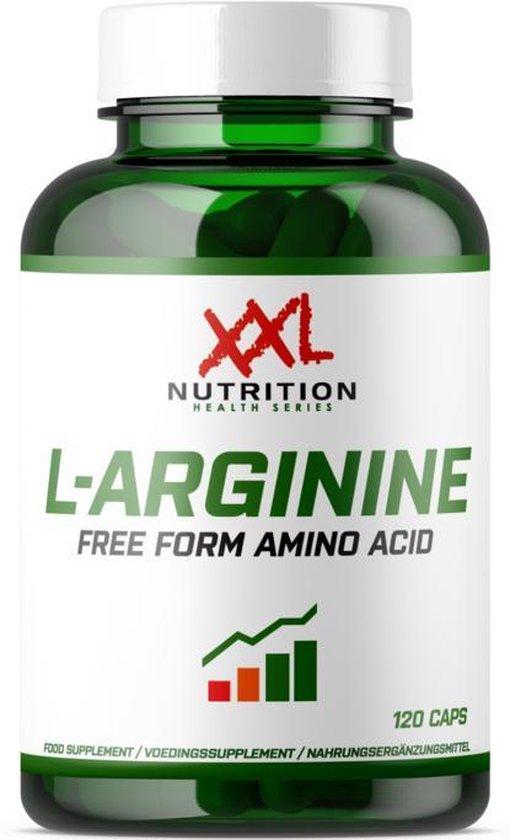 XXL Nutrition L-Arginine - 120 caps -
