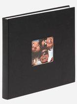 Walther Design FA-205-B Fun - Fotoalbum - 25 x 26 cm - Zwart - 40 pagina's